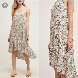 Anthropologie Eloise Verana Hi-Lo dress